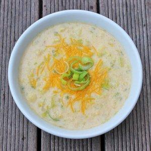Cheddar-Cauliflower-Soup