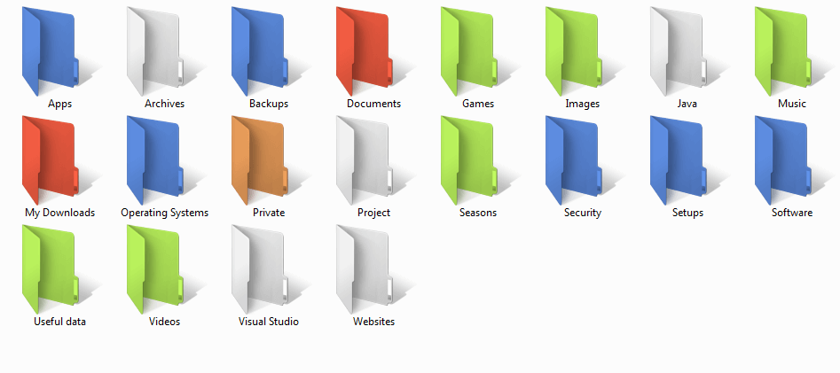 Coloring-folders