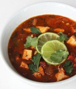Tortilla-Less-Soup