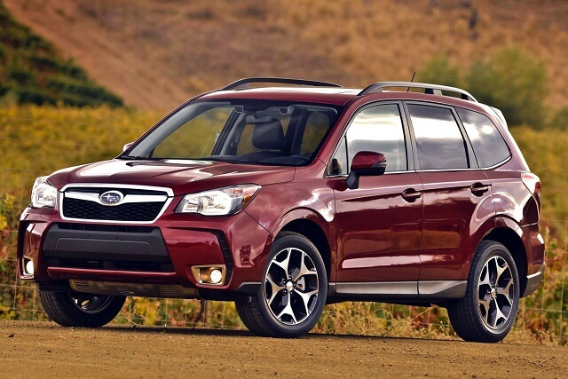 Front Angle 2017 Subaru Forester 2 0 Xt Wallpaper
