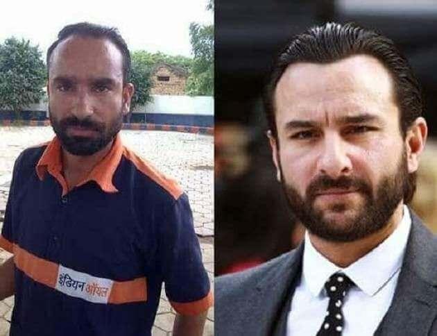 Saif Ali Khan Duplicate