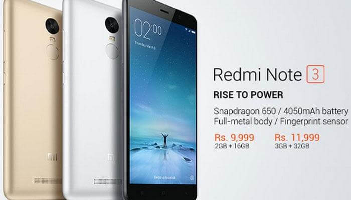 Redmi Note 3 Mobile Price Amazon Snapdeal Flipkart