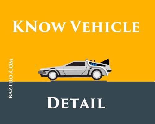 vehicle registration details