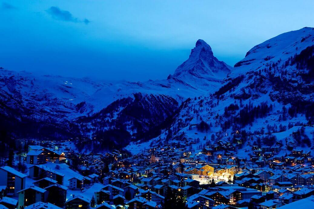 ZERMATT AND ITS MATTERHORN Switzerland