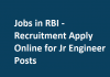 Jobs in RBI - Recruitment Apply Online for Jr Engineer Posts